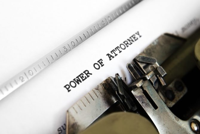 A foreign power of attorney in France