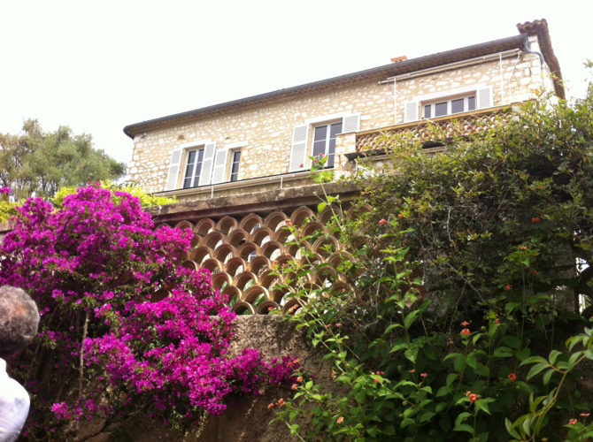 Impressions of Renoir's Home in Cagnes-sur-mer