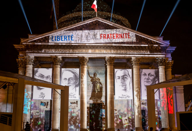 French Resistance Heroes Inducted to the Pantheon in Paris