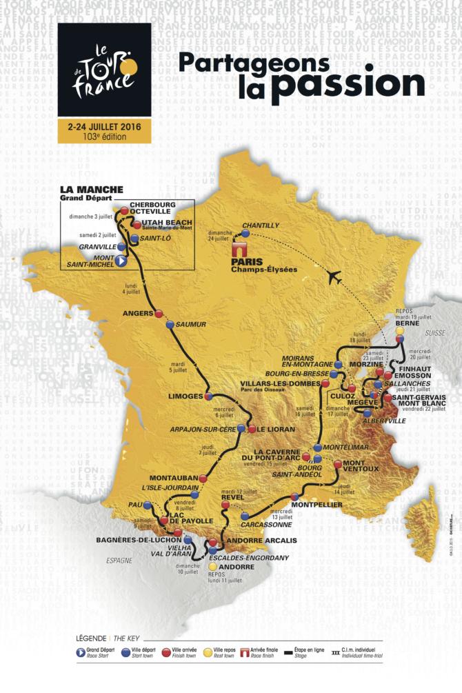 Tour de France 2016 unveiled!