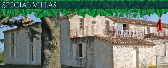 A Selection of Very Special Villas in Aquitaine