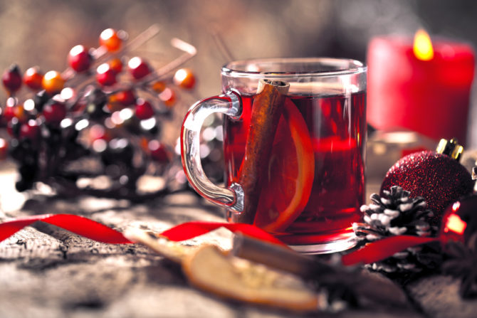 Vin chaud, a classic French winter warmer