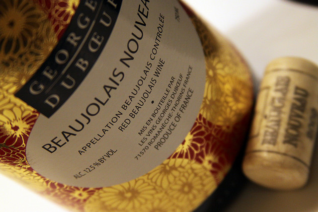 It's Beaujolais Nouveau day in France! Perfect excuse for a wine-tasting party.