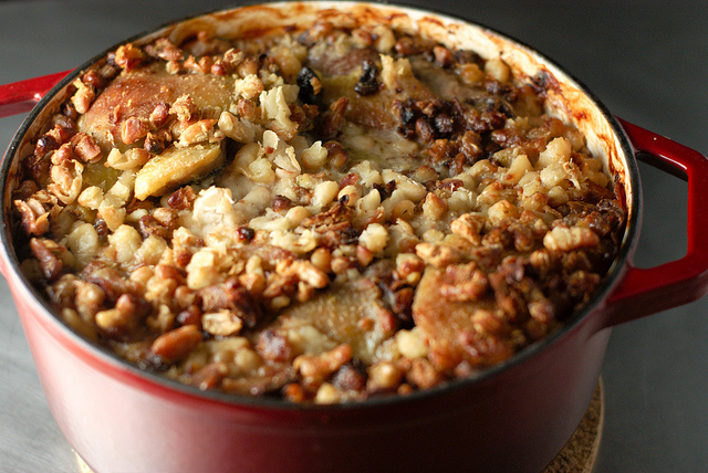"""On a nippy winter day, the French word for happiness is a hearty """"cassoulet""""."""