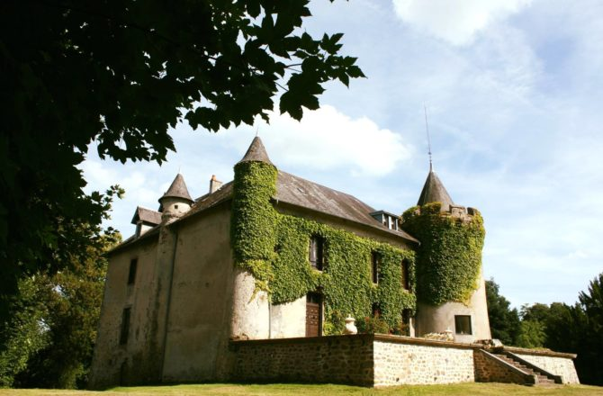 12th-Century Château in the Limousin Rescued From Ruin