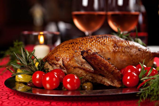 A fabulous Christmas menu <i>à la Franglaise</i>