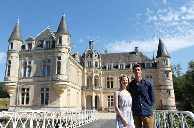 """""""We Bought a Fairytale Château!"""" – Erin and Jean-Baptiste's Story"""