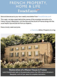 French Property, Home & Life Newsletter Archive