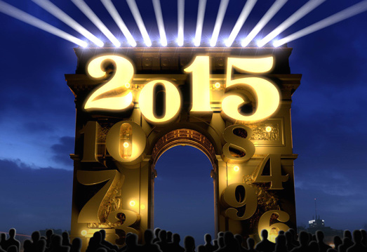 New Year in Paris? Head for the Champs Elysées