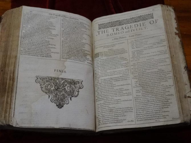 Rare Shakespeare Folio Discovered in France