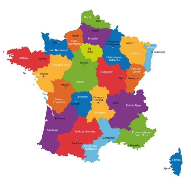 France's Regions at a Glance