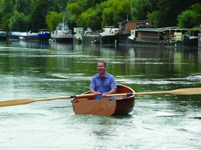 Author Charles Timoney on Rowing the Seine