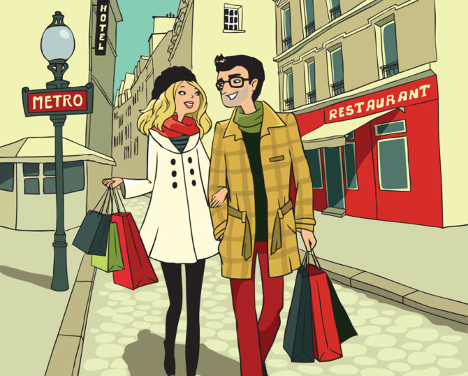 A guide to shopping in France