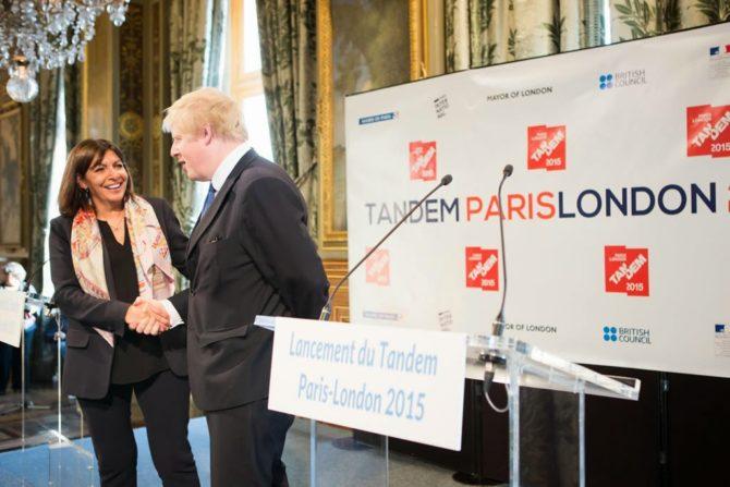 Paris and London Tandem: An Artistic Pas De Deux