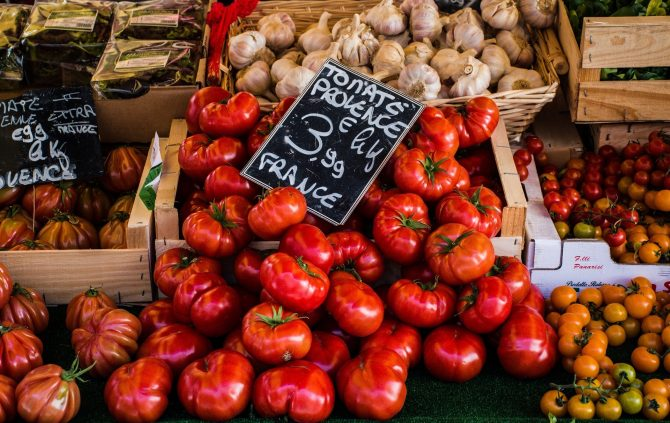 Supermarkets, Covered Markets, and Food Shopping in France