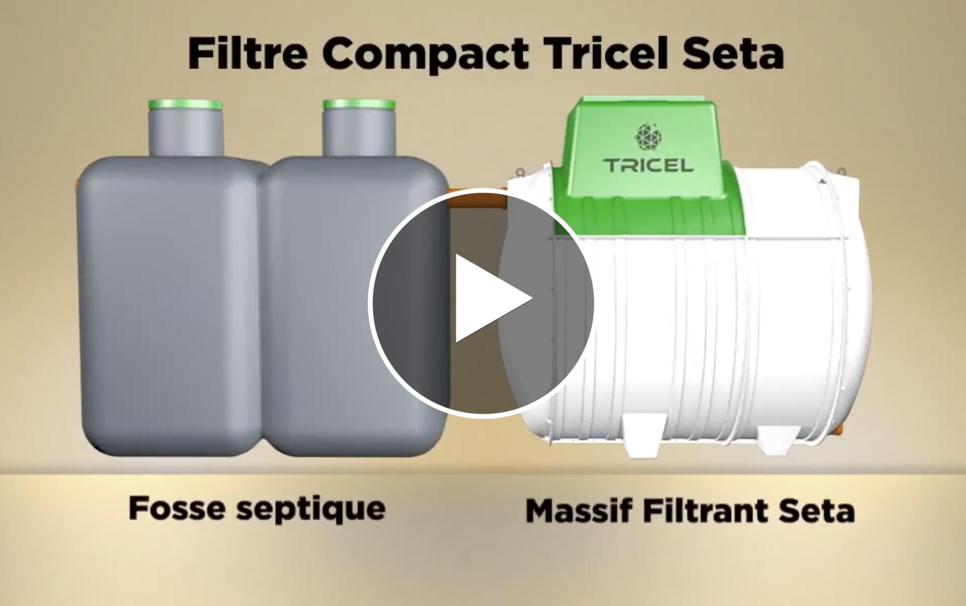 Tricel Seta Compact Filter Demonstration