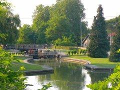 Canal du Midi - Montesquieu Lock