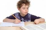 child homework inside