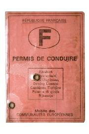 French driving licence