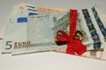 money red ribbon