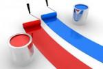 French paint pots for Bons Voisins