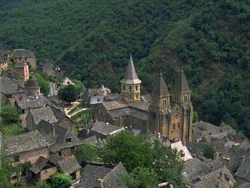 Conques en Aveyron