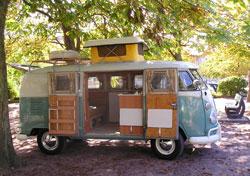 Chris and Jane's VW Van