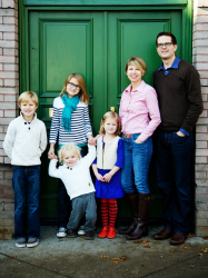 Brubaker family - USA to the Dordogne