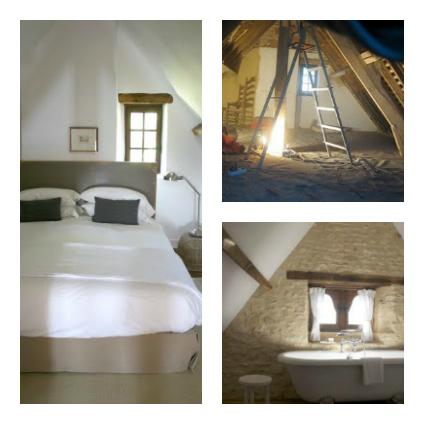 renovation in the Dordogne