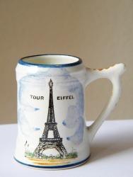 Eiffel tower mug