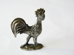 Small French rooster figurine