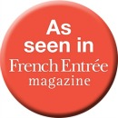 As seen in FrenchEntree Magazine