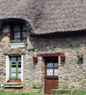 Thatched Cottage, Brittany