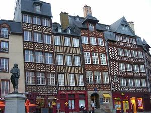 Timber-frames, Rennes