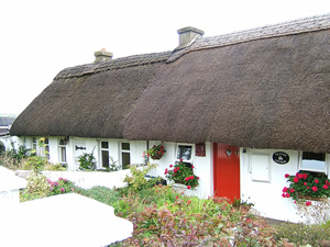 Thatch & mud cottage