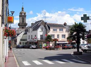 Village centre, Brittany