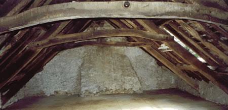 Lovely oak beams