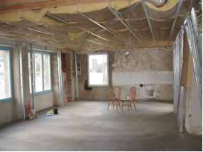 The blank canvas with the walls removed!