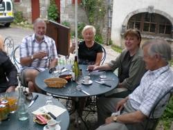 Burgundy Friends