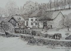 Sketch of Les Cerisiers