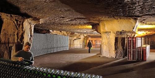 Bailly wine cellars, Burgundy