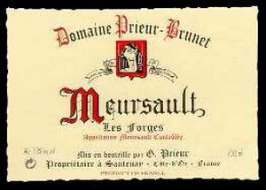 Burgundy wine Meursault
