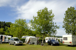 Campsite in France