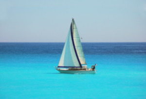 Sailing in the south of France