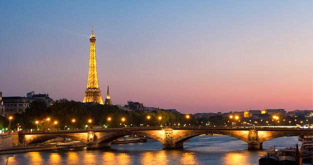 Eiffel tower in France