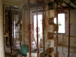 Interior in course of renovation