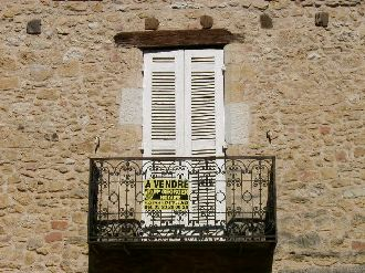 Balcony of Belvès house for sale