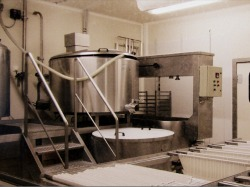 Cheese making machinery
