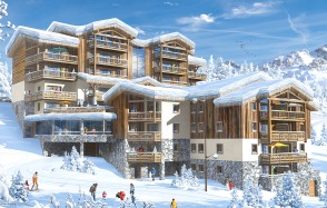 Lodge Hemera proposed new eco village in the Alps