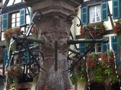 Fountain in Kaysersberg